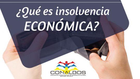 ¿Qué es insolvencia económica?